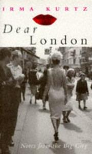 Cover of: Dear London