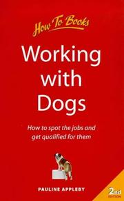 Cover of: Working With Dogs