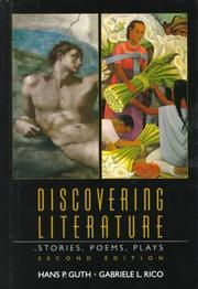 Cover of: Discovering literature | Hans Paul Guth
