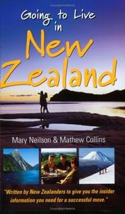 Cover of: Going to Live in New Zealand | Mary Neilson