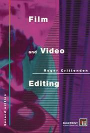 Cover of: Film and Video Editing | Roge Crittenden