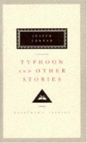 Cover of: Typhoon and other stories