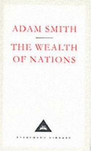 Cover of: The Wealth of Nations