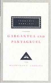 Cover of: Gargantua and Pantagruel