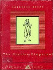 Cover of: The Scarlet Pimpernel (Everyman's Library Children's Library)