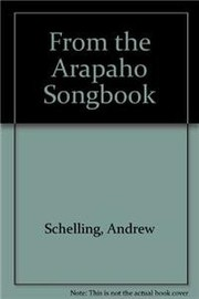 Cover of: From the Arapaho Songbook
