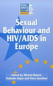 Cover of: Sexual Behaviour and HIV/AIDS in Europe