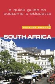 Cover of: South Africa - Culture Smart! | David Holt-Biddle