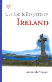 Cover of: Customs & Etiquette Of Ireland (Simple Guides)