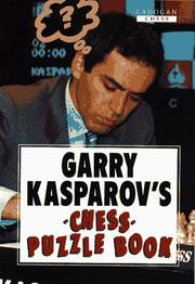 Cover of: Garry Kasparov's Chess Puzzle Book