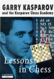 Cover of: Lessons In Chess