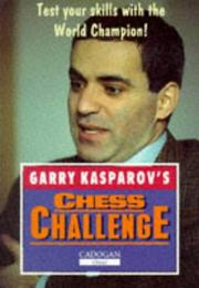 Cover of: Garry Kasparov's Chess Challenge