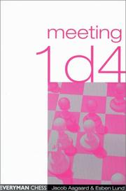 Cover of: Meeting 1d4 | Jacob Aagaard