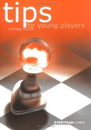 Cover of: Tips for Young Players | Matthew Sadler