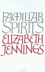 Cover of: Familiar spirits