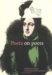 Cover of: Poets on poets