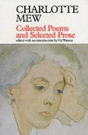 Cover of: Collected poems and selected prose