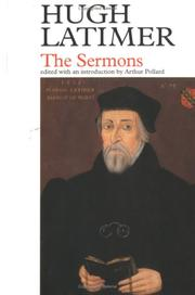 Cover of: Sermons: Ed. for the Parker Society by George Elwes Corrie.