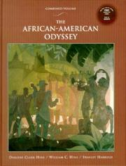 Cover of: African-American Odyssey with Audio CD, The | Darlene Clark Hine