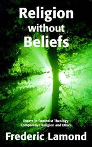 Cover of: Religion without beliefs