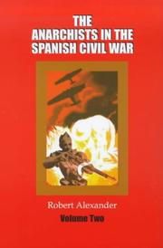 Anarchists in the Spanish Civil War