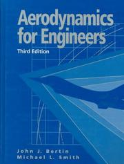 Cover of: Aerodynamics for engineers