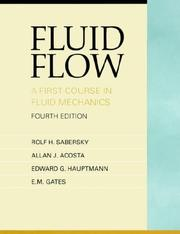 Cover of: Fluid Flow | Rolf H. Sabersky