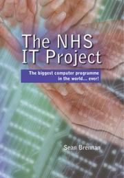 Cover of: The Nhs It Project | Sean Brennan