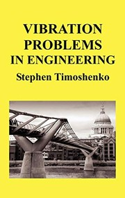 Cover of: Vibration Problems in Engineering