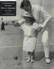 Cover of: The Edwardian Eye of Andrew Pitcairn-Knowles | Richard Pitcairn Knowles