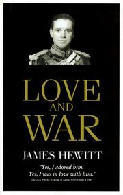 Cover of: Love and War | James Hewitt