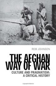 Afghan Way of War