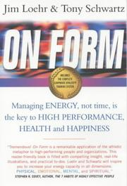 Cover of: On Form