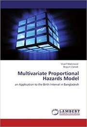 Cover of: Multivariate Proportional Hazards Model |