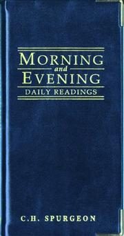 Cover of: Morning and Evening (Daily Readings)