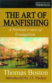 Cover of: The Art of Manfishing (Christian Heritage Imprint)
