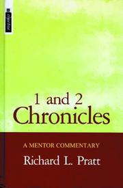 Cover of: 1 And 2 Chronicles (Mentor Commentaries)