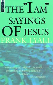 The I Am Sayings of Jesus