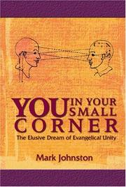Cover of: You in Your Small Corner