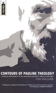 Cover of: Contours of Pauline Theology