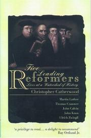 Cover of: Five Leading Reformers: Lives at a Watershed of History