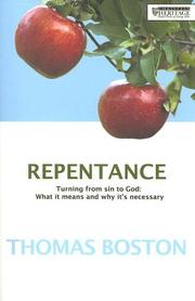 Cover of: Repentance: Turning from Sin to God