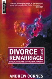 Divorce and Remarriage by Andrew Cornes