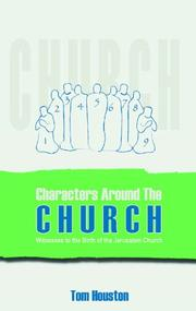 Cover of: Characters Around the Church | Tom Houston
