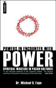 Cover of: Powers in Encounters with Powers: Paul's Concept of Spiritual Warfare in Ephesians 6:10-12