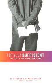 Cover of: Totally Sufficient |