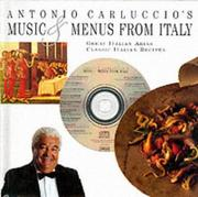 Cover of: Music and Menus from Italy