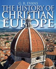 Cover of: The History of Christian Europe
