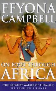 Cover of: On foot through Africa