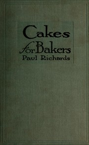 Cakes for Bakers